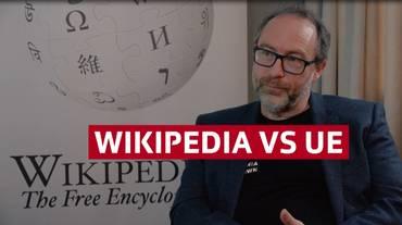 Wikipedia in campo contro l'UE