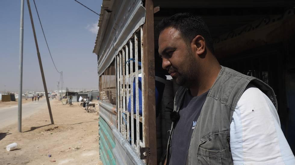 Sguardo sul campo di Zaatari dove vivono 80'000 rifugiati - È la 4.a città di Giordania