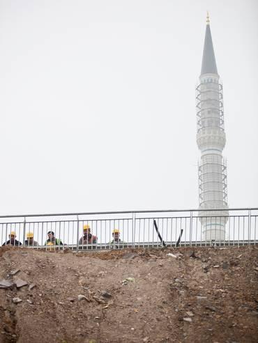 Le moschee di Erdoğan - Uno dei sei minareti della moschea di Çamlıca
