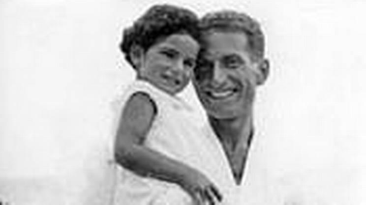 Liliana piccola con papà