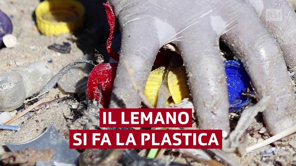 Plastica: discarica Lemano