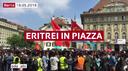 Eritrei in piazza a Berna