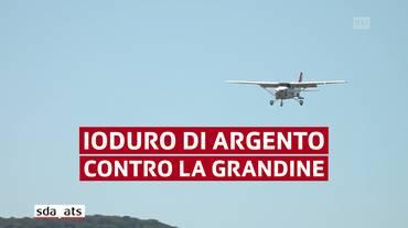 Ecco l'aereo anti grandine