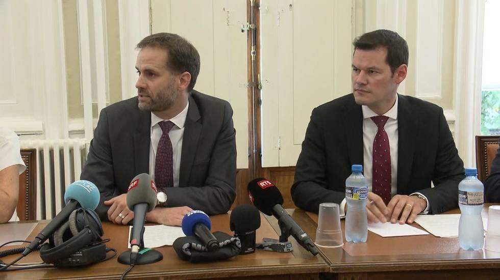 La conferenza stampa del Consiglio di Stato ginevrino