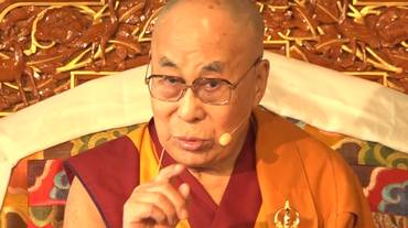 La visita del Dalai Lama