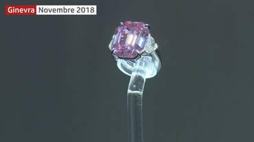 Un diamante rosa da record