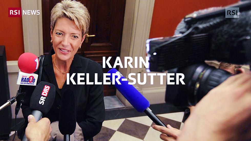 Karin Keller-Sutter si è imposta nella corsa alla successione in Governo al dimissionario Johann Schneider-Ammann