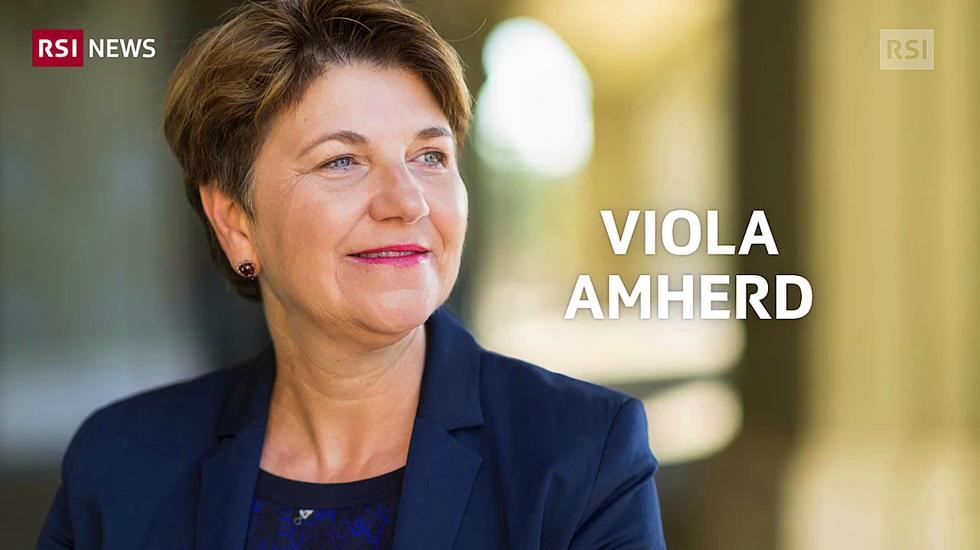 Viola Amherd è nel Governo