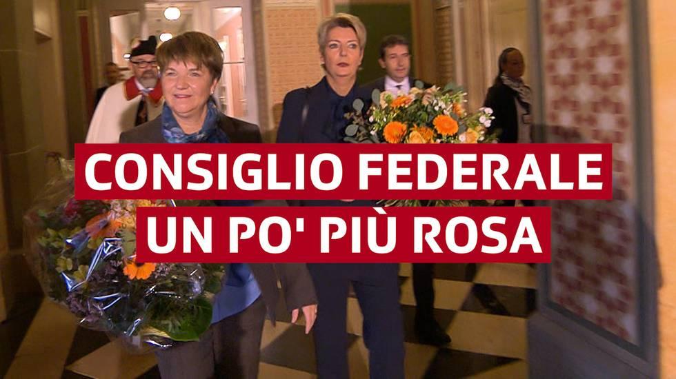 Consiglio federale un po' più rosa