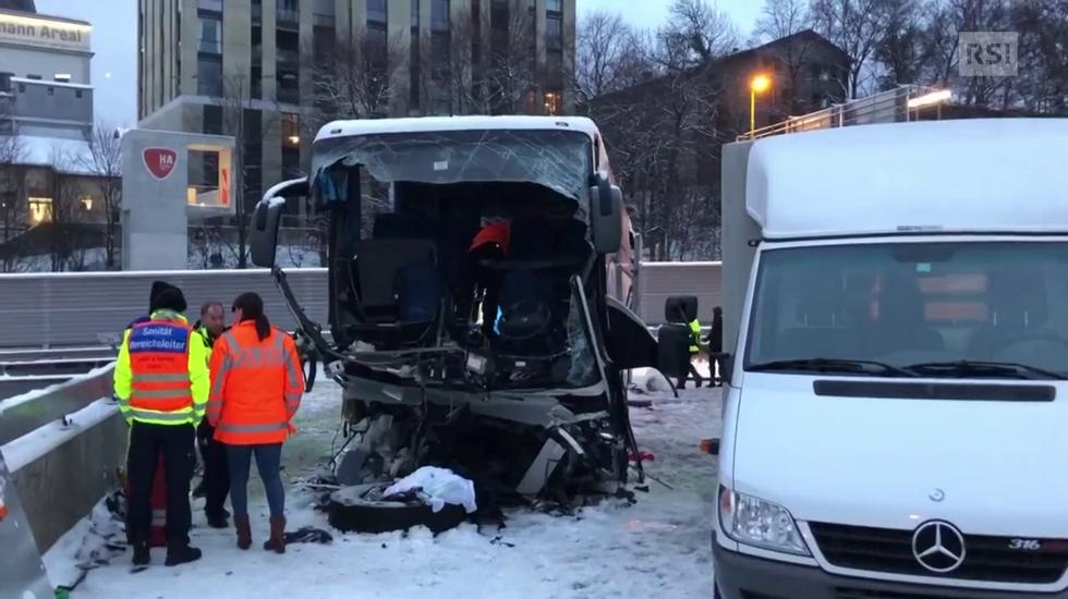 Grave incidente sull'A3 a Zurigo
