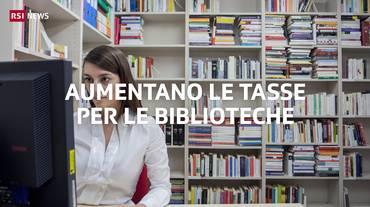 Più tasse per le biblioteche
