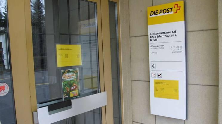 Alla problematica della chiusura degli uffici postali è legata un'iniziativa cantonale in votazione nel canton Sciaffusa