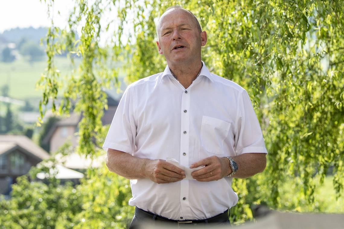Andreas Aebi, presidente del Consiglio nazionale