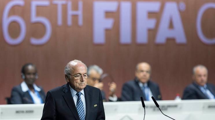 Blatter dopo la rielezione
