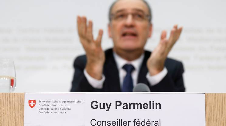 ''Consigliere federale Guy Parmelin