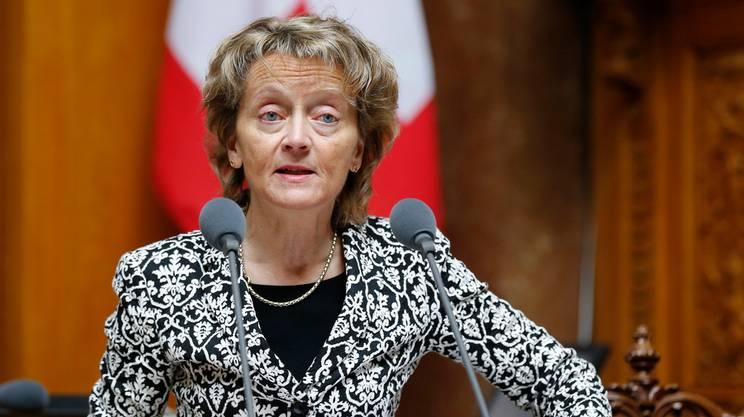 Dopo gli attentati di Parigi, Eveline Widmer-Schlumpf aveva ribadito la necessità di avere più Guardie di confine
