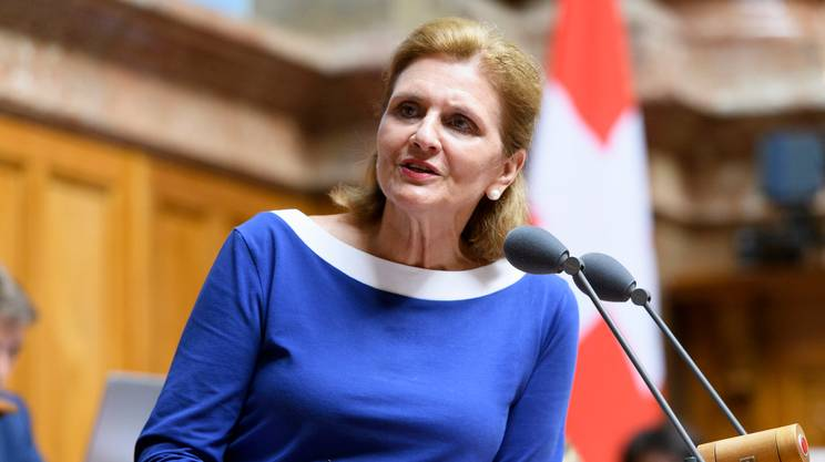 Doris Fiala, presidente nazionale delle donne liberali-radicali