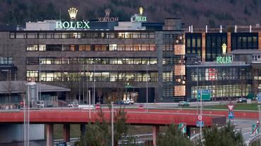 Emissione di gas alla Rolex