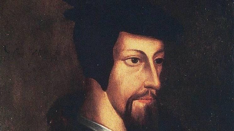 Giovanni Calvino (1509 - 1564), promotore della Riforma a Ginevra