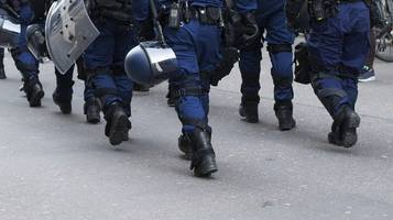 Berna, bloccata manifestazione