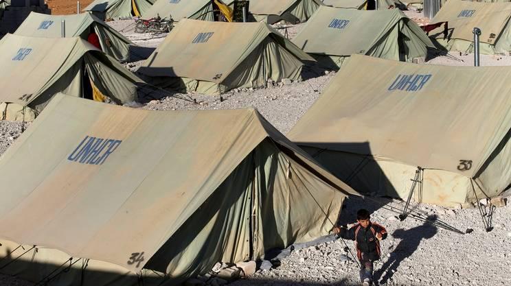 Gli aiuti svizzeri vanno anche a chi si trova nei campi profughi del Libano