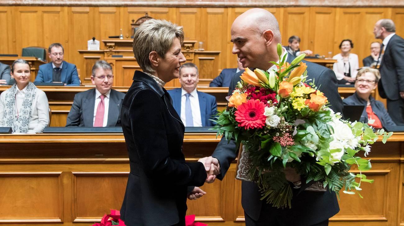 Gli auguri della presidente del Consiglio degli Stati Karin Keller-Sutter