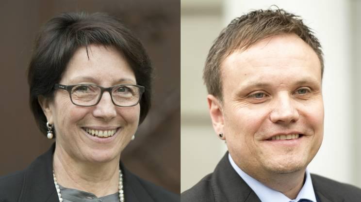 I liberali-radicali Barbara Bär e Roger Nager, in lizza per la presidenza del Governo urano