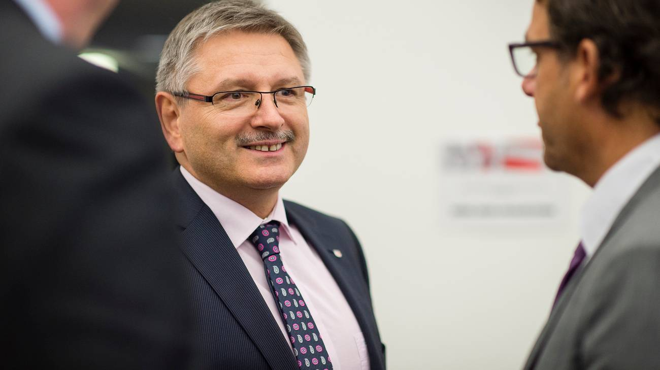 Il Consigliere di Stato giurassiano Charles Julliard in un'immagine risalente al 2015
