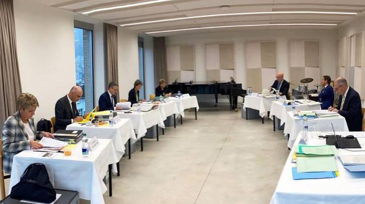 Il Consiglio federale riunito a Lucerna
