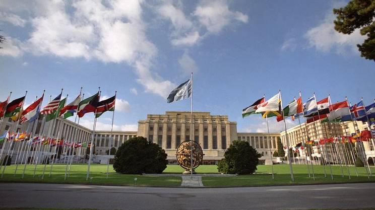 Il Palazzo delle Nazioni di Ginevra, sede europea dell'ONU