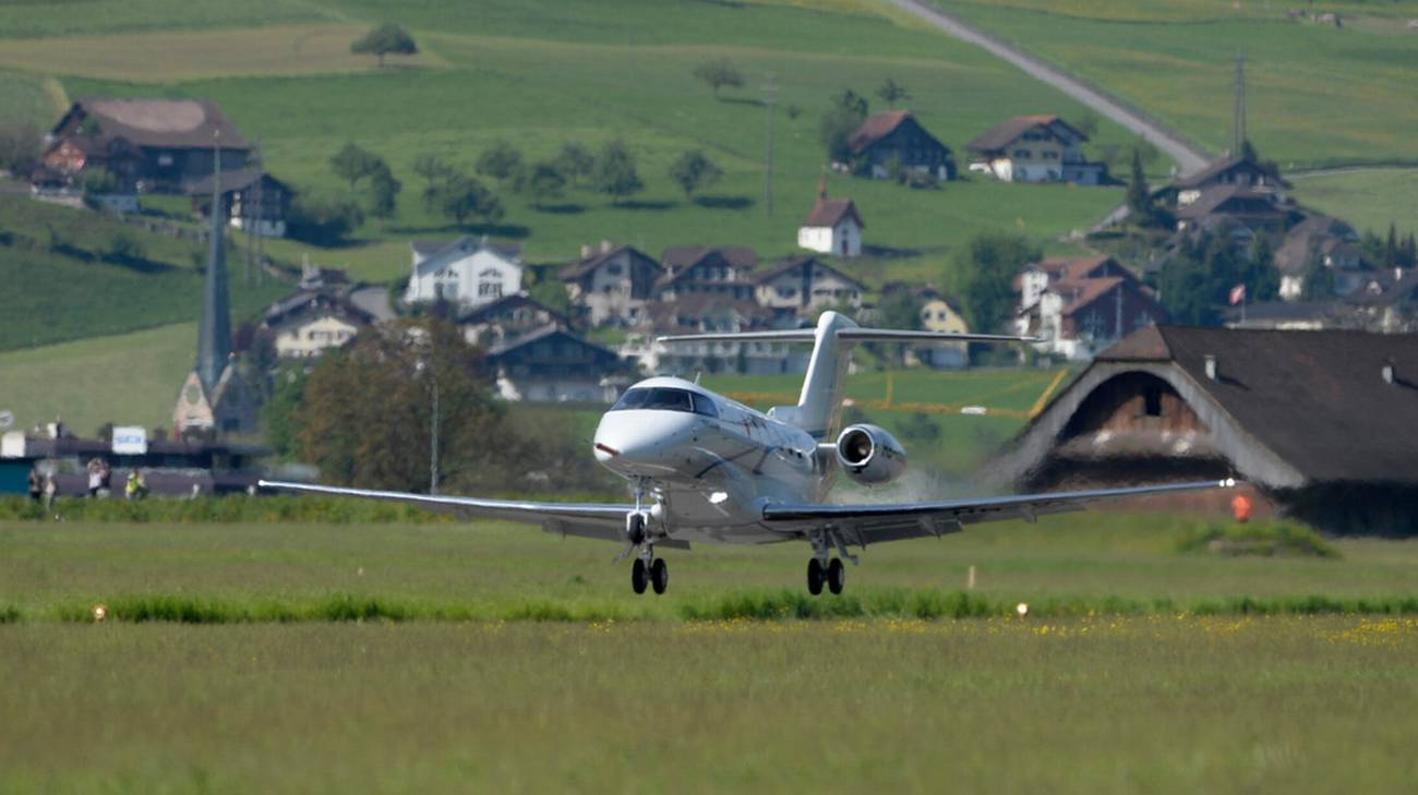 Il business jet made in Switzerland