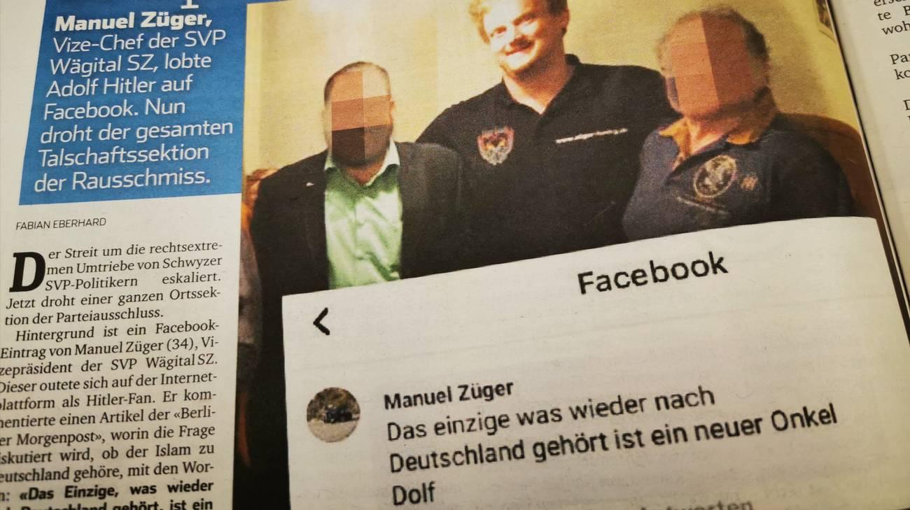 Udc E Hitler Guai Nella Wägital Rsi Radiotelevisione Svizzera