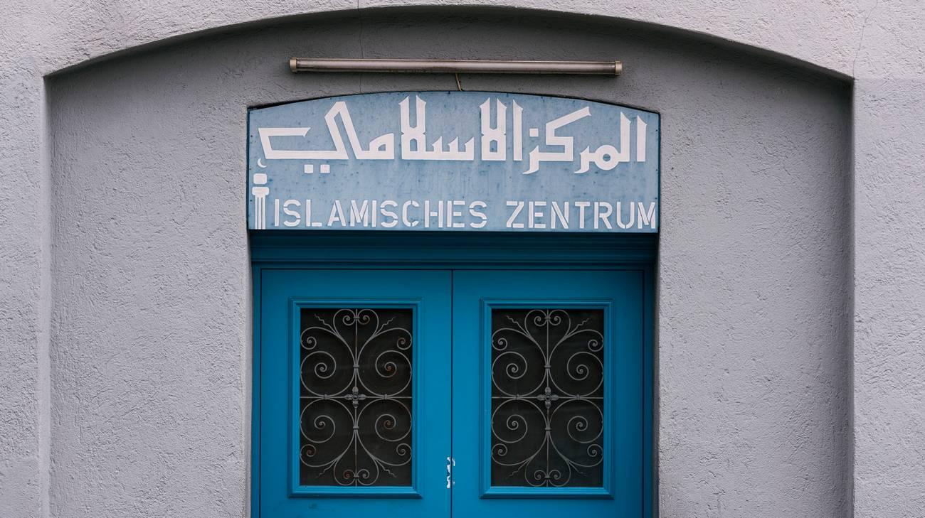 Il centro di culto in Eisgasse vicino alla stazione