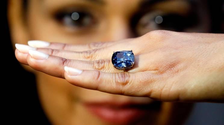 Il magnifico diamante blu