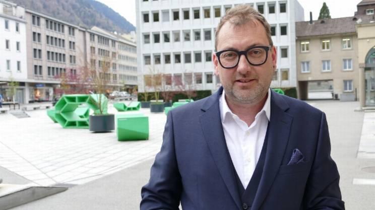 Il ministro cantonale Peter Peyer