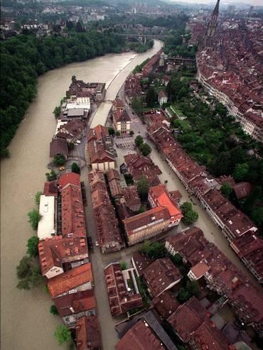 Il quartiere Matte di Berna nel 1999