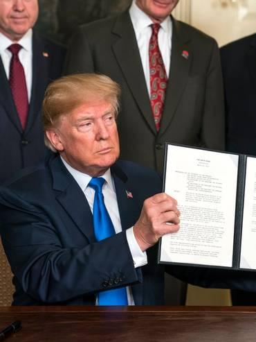 Il ritorno dei protezionismi: Donald Trump ha fatto dell'introduzione di dazi uno dei capisaldi della sua politica economica