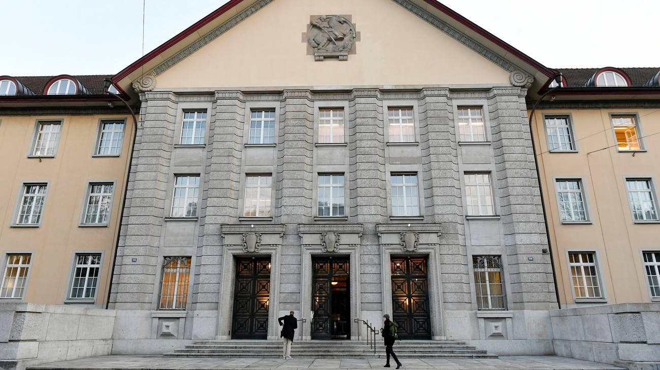 Il tribunale distrettuale di Zurigo, dove il neonazista è stato condannato martedì
