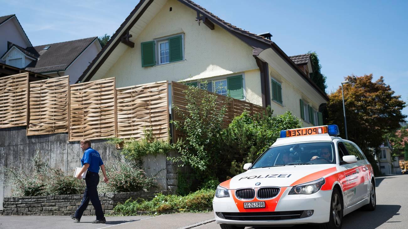 La casa di Staad in cui è stato rinvenuto il corpo della piccola