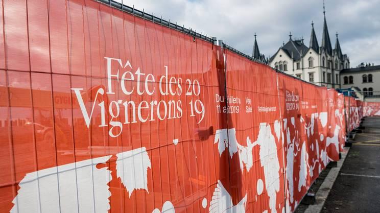 SRG SSR alla Fête des Vignerons