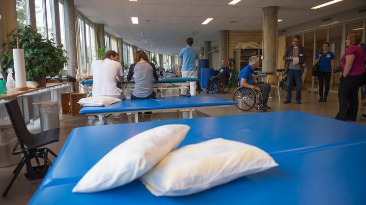 La giovane è ricoverata al centro per paraplegici di Nottwil