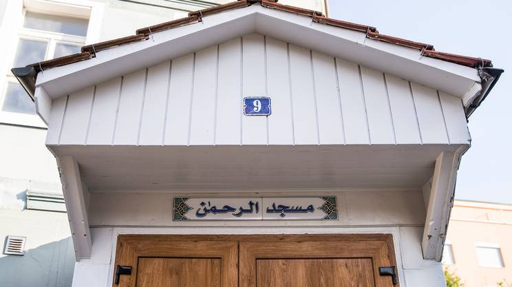 La moschea Ar'Rahman di Bienne