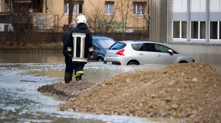 La zona di Wolhusen era già stata colpita dal maltempo a inizio anno