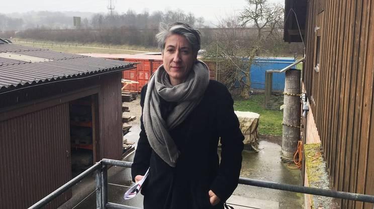 L'archeologa Sandra Ammann