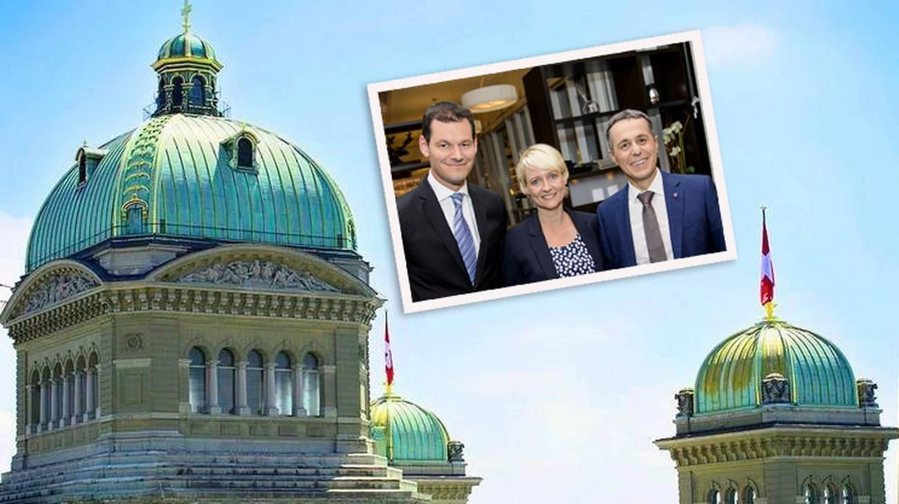 Le tre personalità schierate dal PLR per il seggio in Governo lasciato da Didier Burkhalter