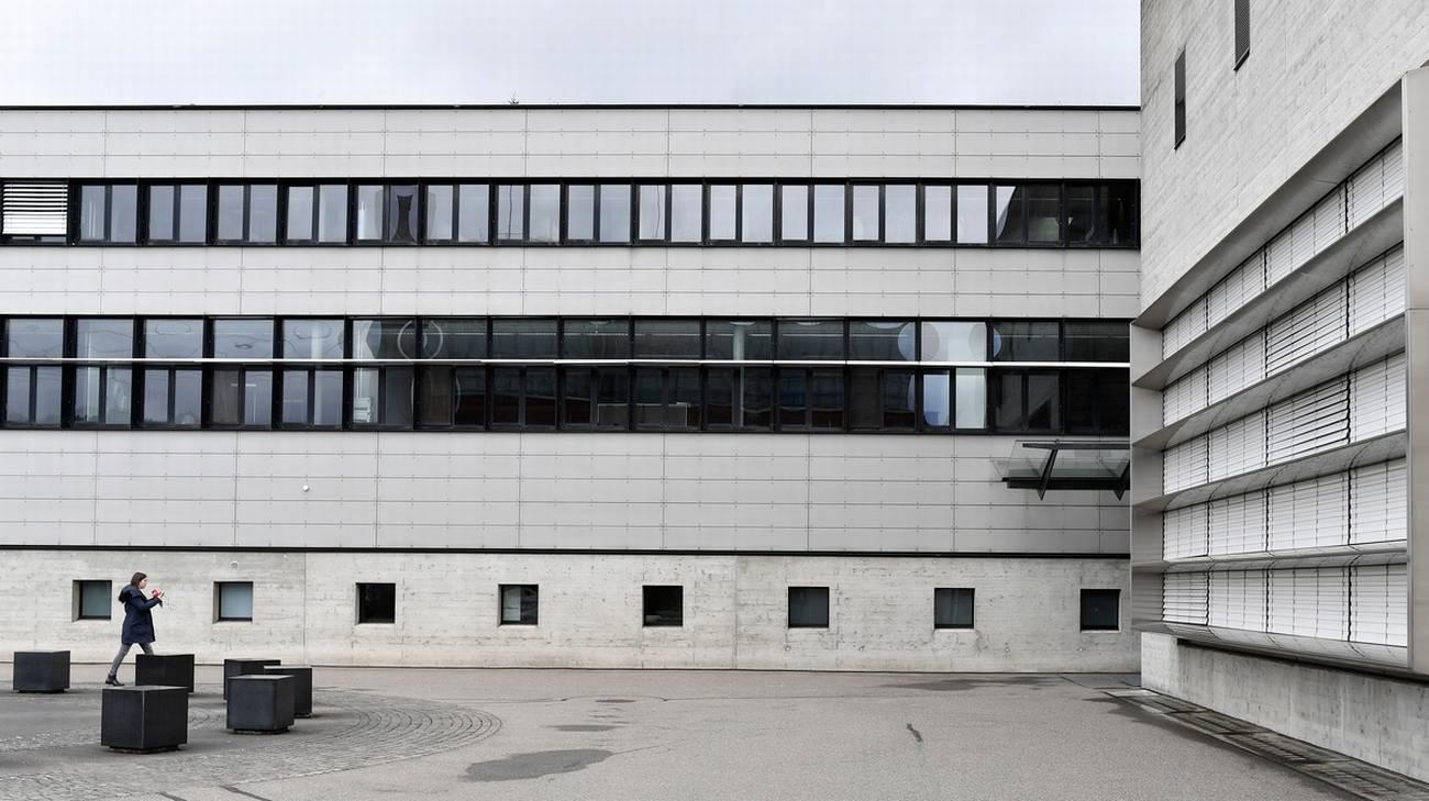 L'edificio nel canton Argovia dove si tiene il processo al pluriomicida di Rupperswil