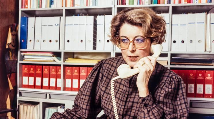 Lilian Uchtenhagen (1928-2016), storica esponente del PS svizzero e sfortunata candidata al Consiglio federale nel 1983