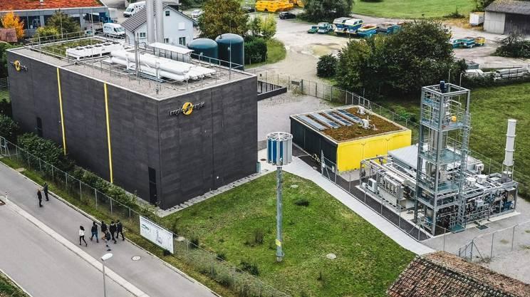 L'impianto ibrido della Regioenergie Solothurn