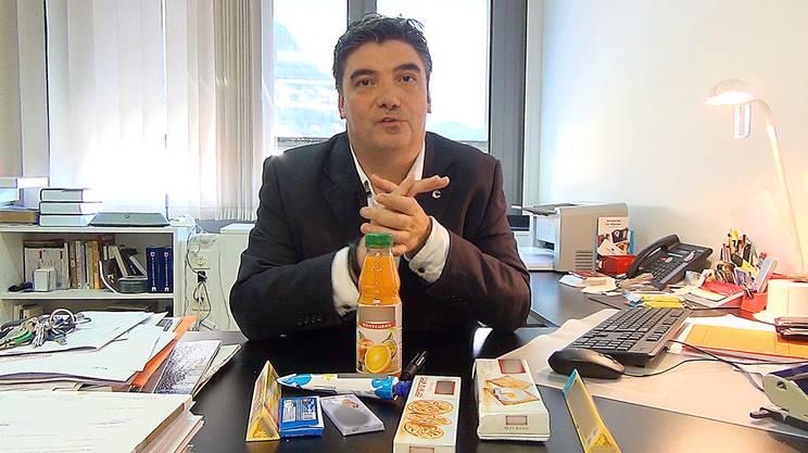 Luca Albertoni, direttore della Camera di commercio ticinese e anche presidente del comitato della Camera di commercio e dell'industria della Svizzera