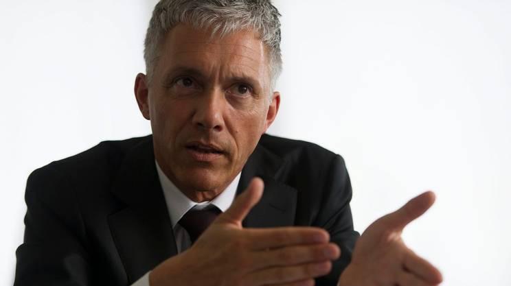 Michael Lauber, procuratore generale, dirige il Ministero pubblico della Confederazione dal 2012